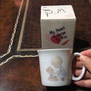 Vintage 1984 Precious moments little cup